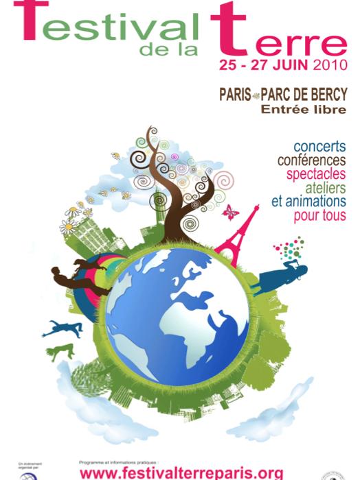 affiche festival de la terre 2010